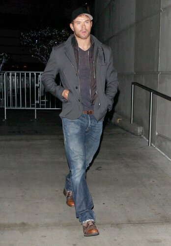 Kellan Lutz attending the Beyonceconcert, held at Staples Center in downtown Los Angeles. December 3, 2013 X17online.com