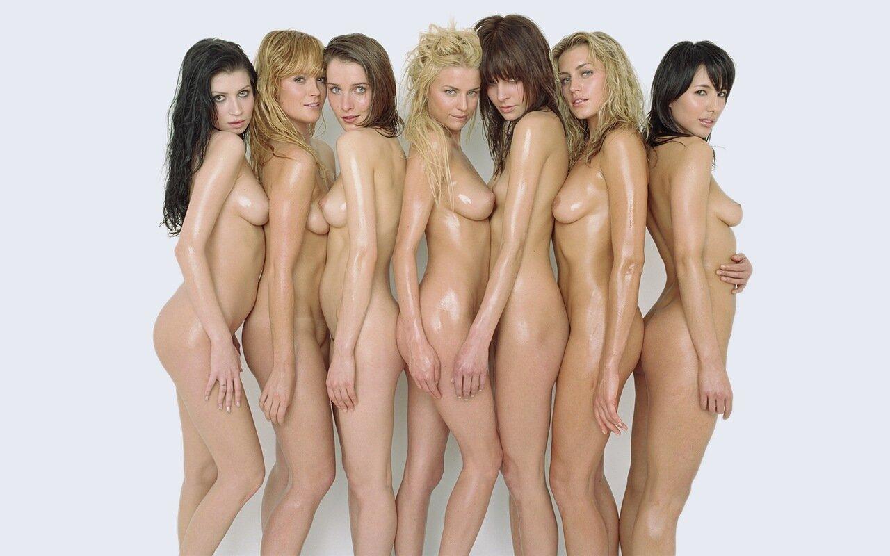 Фото группа голых девушек, порно отрыв на природе