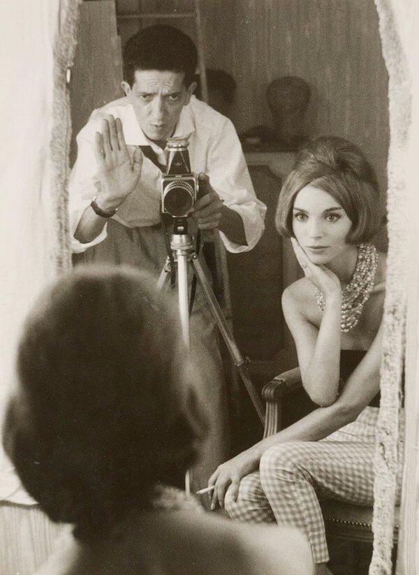 Self-portrait with Elsa Martinelli, c1970 (Pierluigi Praturlon).jpg