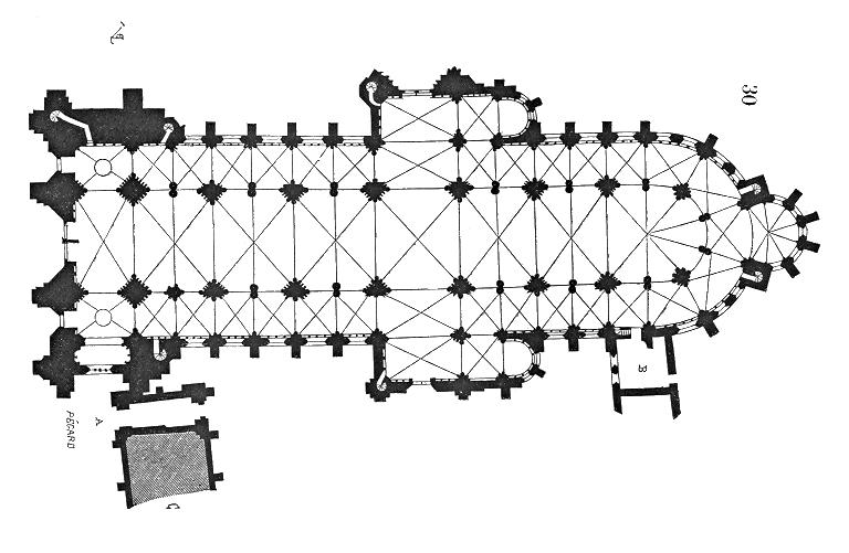 План собора в Сансе