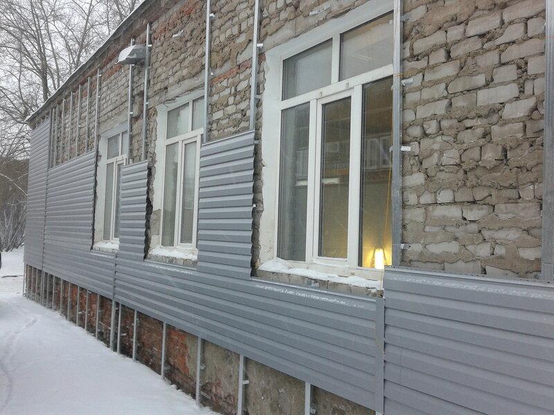 Как обшить дом сайдингом своими руками без утепления