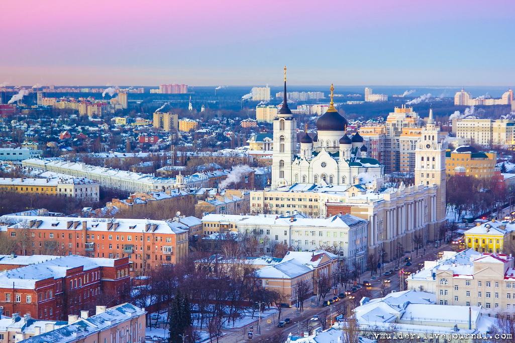 городу, фотографии зимнего воронежа столько много мест
