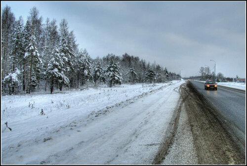 Мурманское шоссе. Январь 2014.