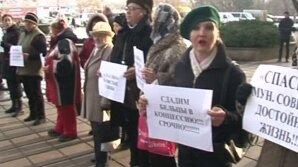 Бельцы: люди недовольны увеличением тарифа на вывоз мусора