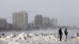 США борятся с волной полярного холода