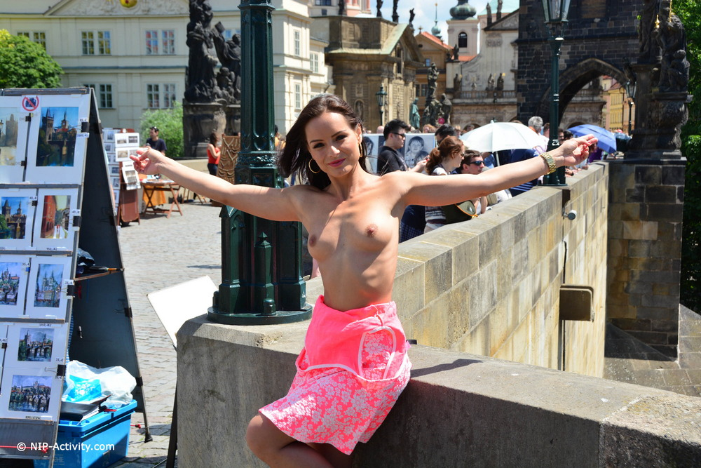 Kari хулиганит в Праге