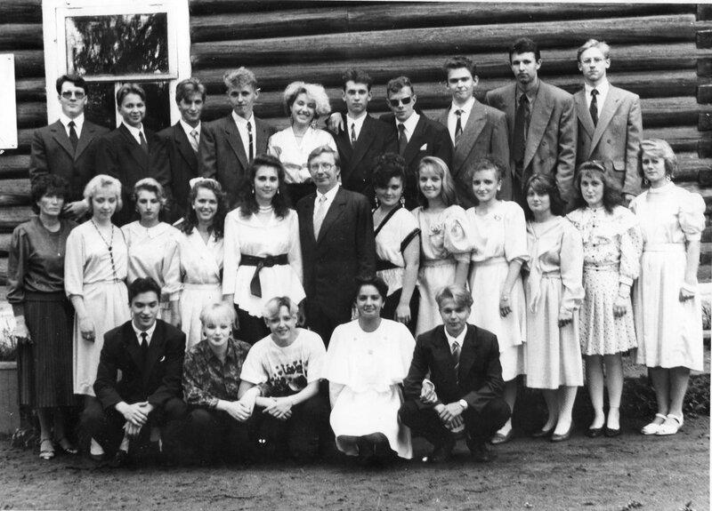 Выпускники 1993 г.