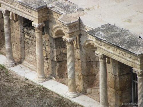 Древний театр в Иераполе, Турция