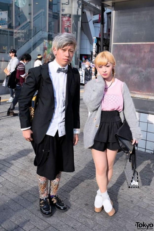 Молодежная мода Японии