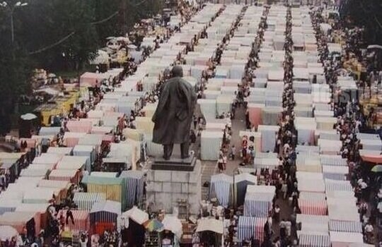 Ленин следит за базаром! (1 фото)