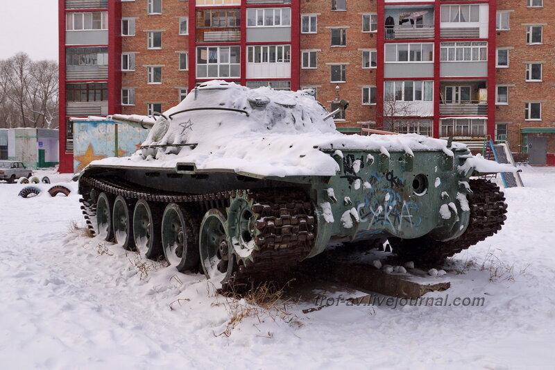 Танк Т-62, Омск