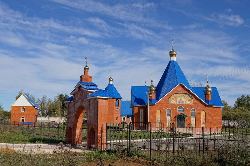 Покровская церковь, Таширово