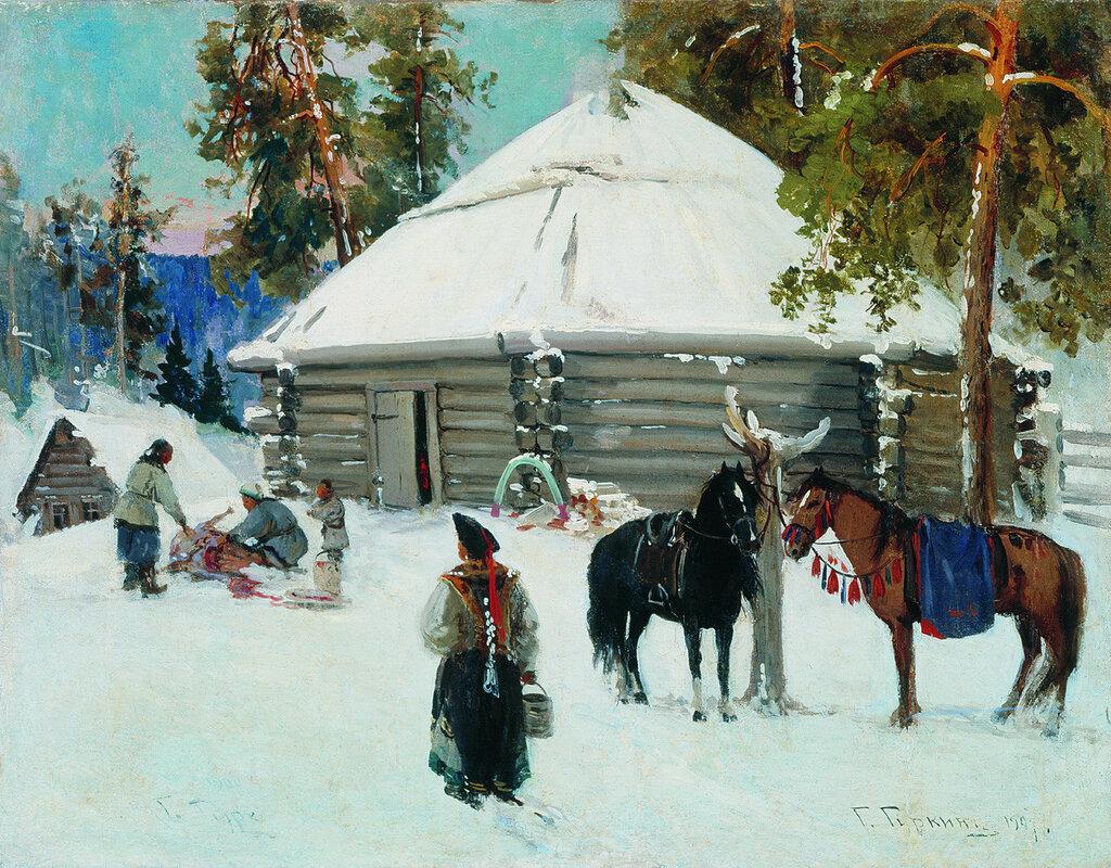 Алтайцы. 1907