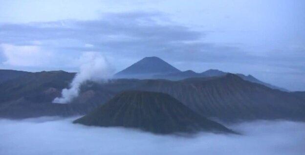 Вулкан в Индонезии Kawah Ijen
