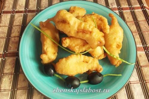 Воздушный кляр для рыбы и куриного филе, Женские слабости