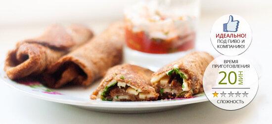 Наш рецепт в фотографиях и описании. Пятничные тосто-рулетики с сыром и зеленью. 6 шагов и 7 фото.