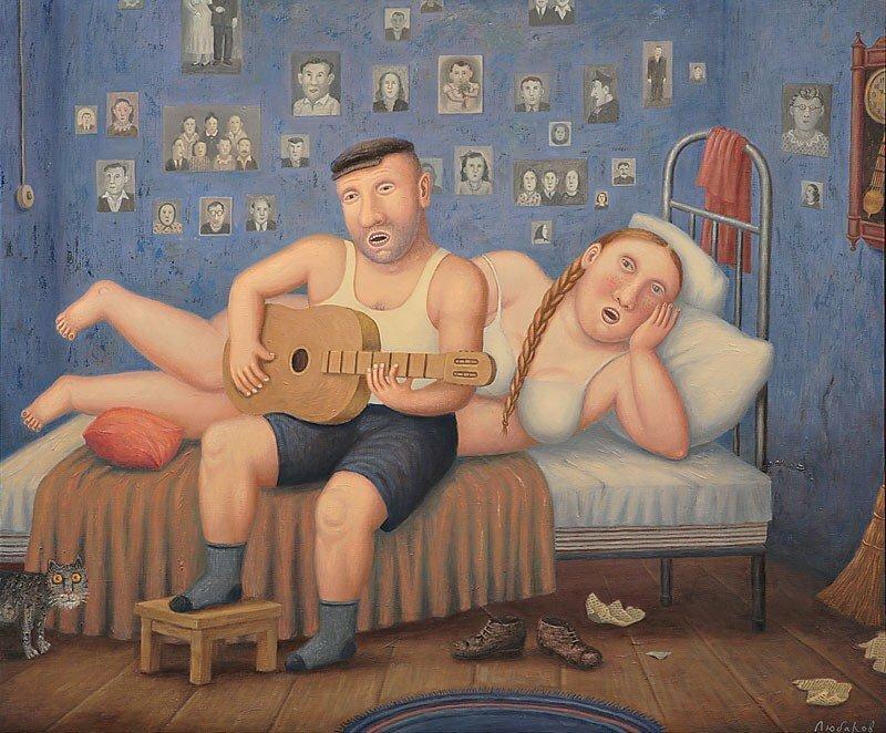 Завораживающий мир художника из сельской глубинки Владимира Любарова