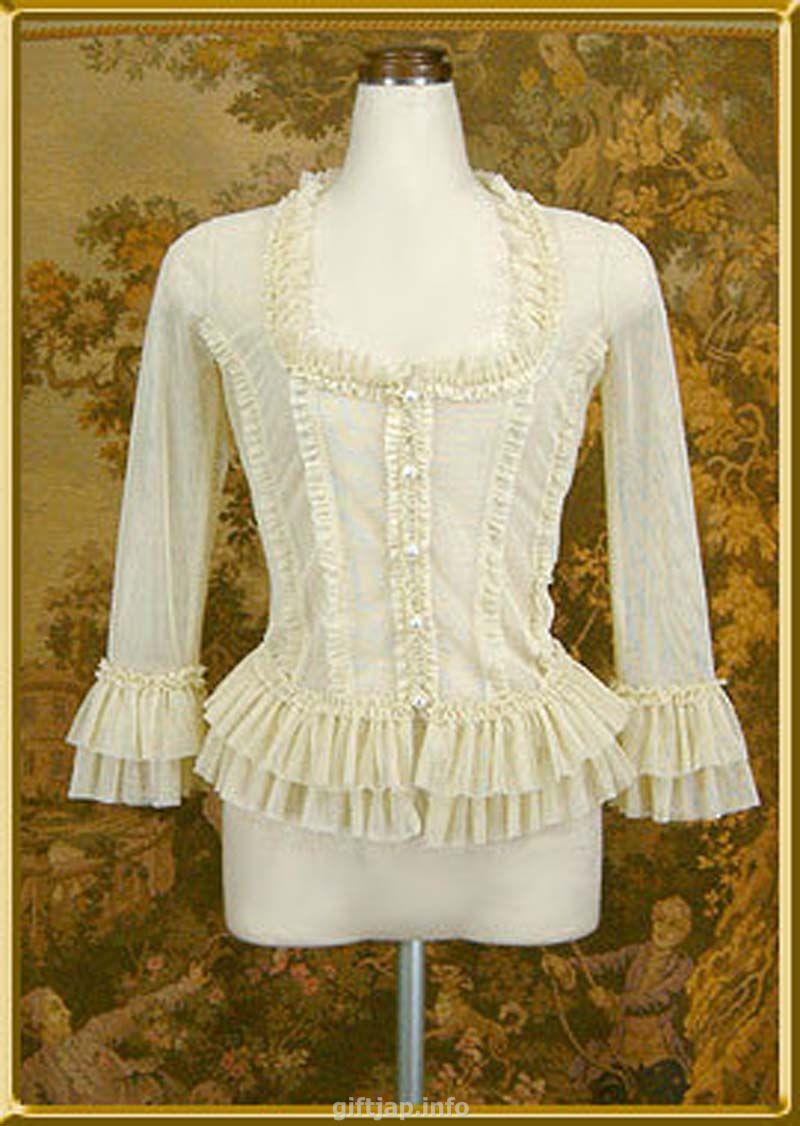 Викторианская Блузка