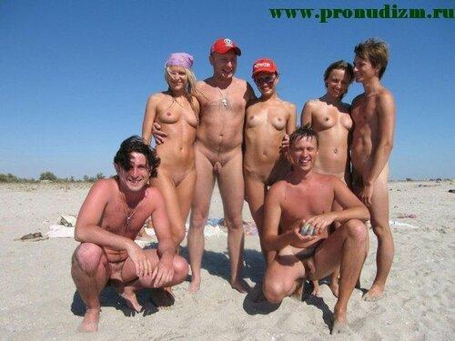 Фото семейного нудистов