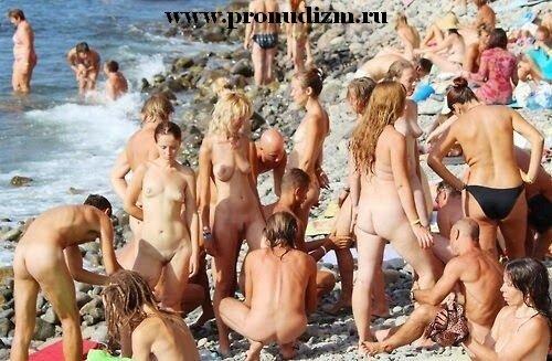 нудистские пляжи фото голых кисок и сисек