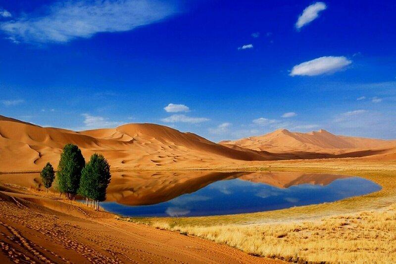Фотографии удивительных пустынь Земли