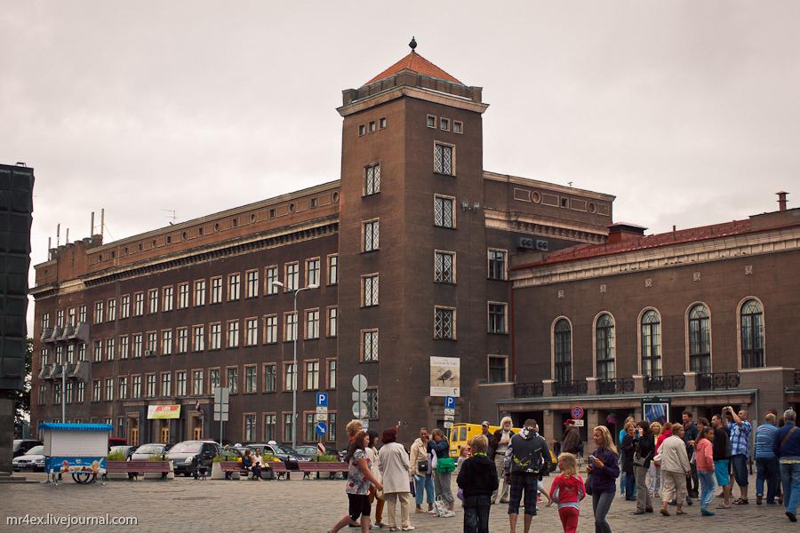 Латвия, Рига, Latvia, Riga, Старый город Риги, Рижский технический университет
