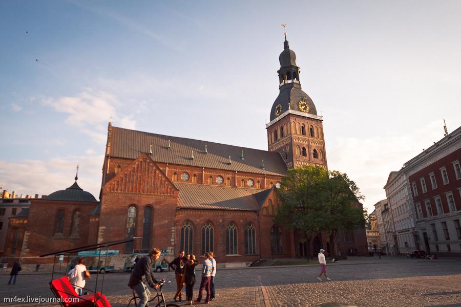 Латвия, Рига, Latvia, Riga, Старый город Риги, Домский собор