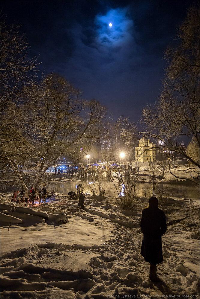 Крещение, Новоиерусалимский монастырь, Истра