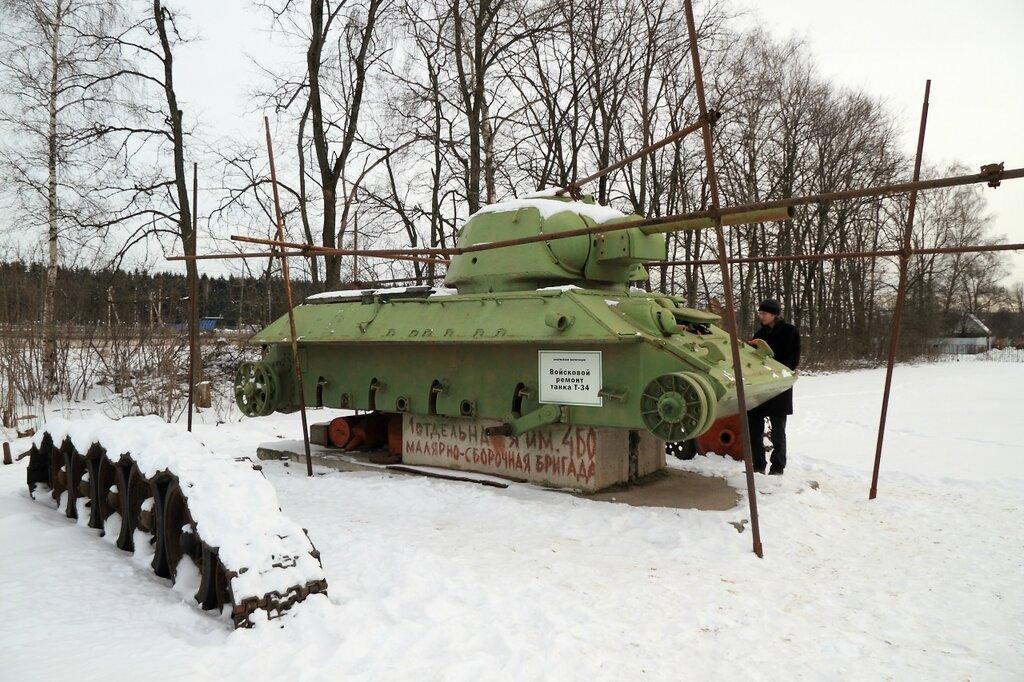 Войсковой ремонт танка Т-34