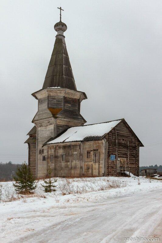 Ильинский храм, Саминский погост, Вологодская область