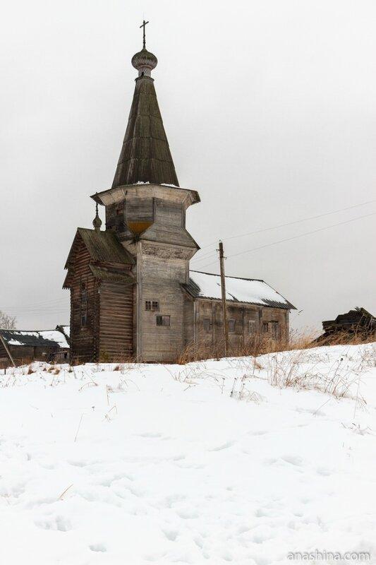 Ильинская церковь,Саминский Погост, Вологодская область