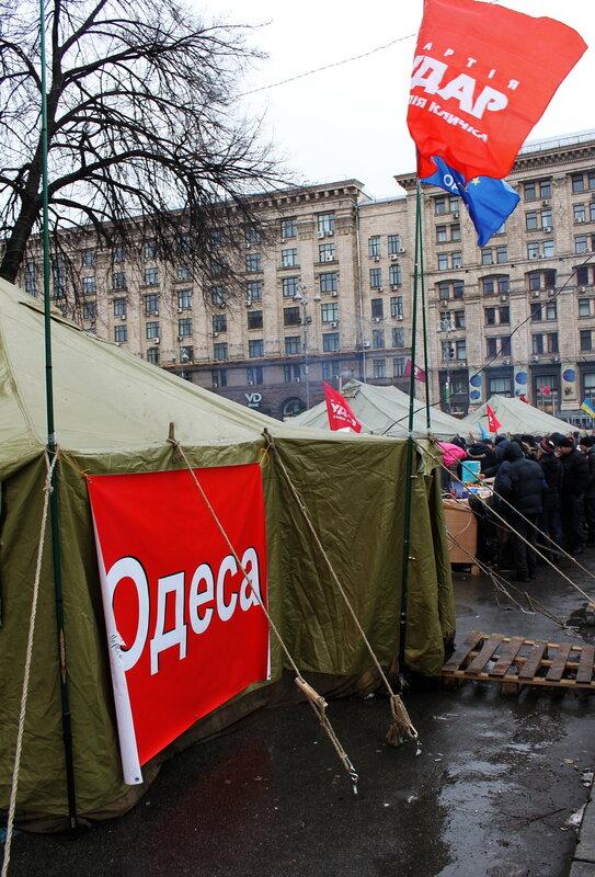 Палатка Одессы на Городецкого