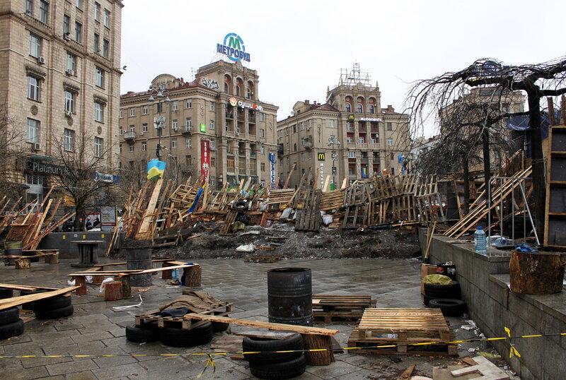 Баррикада на Майдане