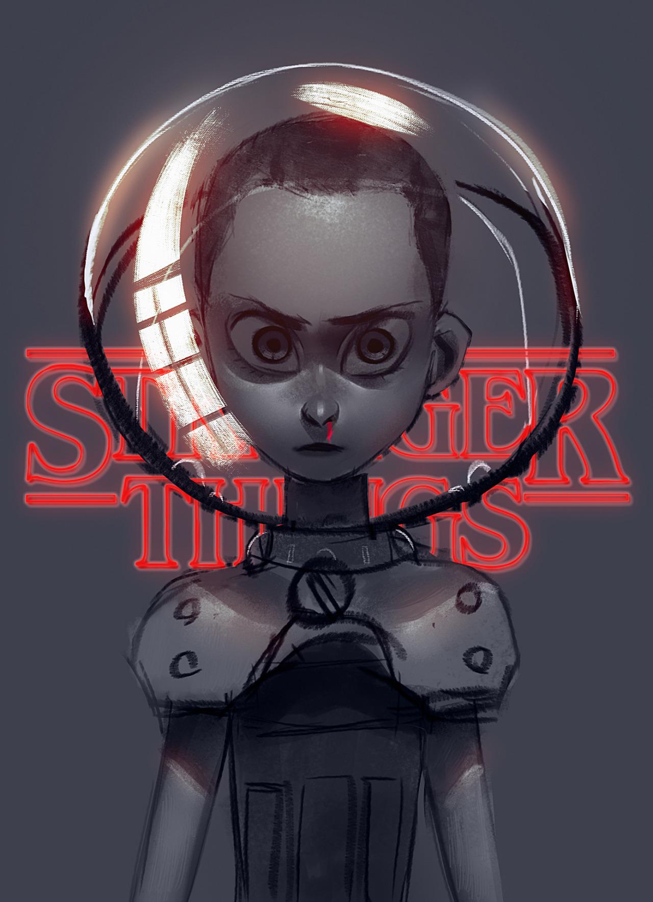 Stranger Things Fan Art and Illustrations