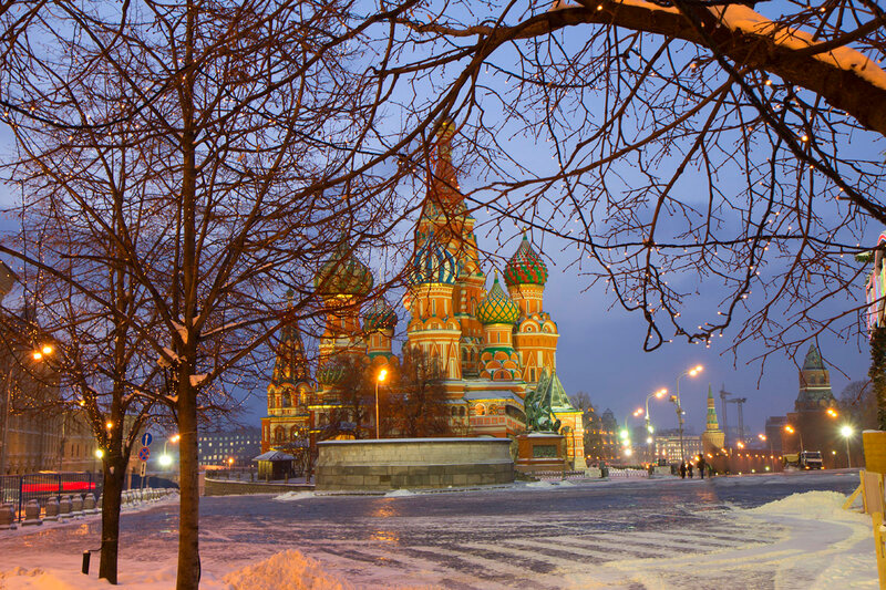 Москва зимняя
