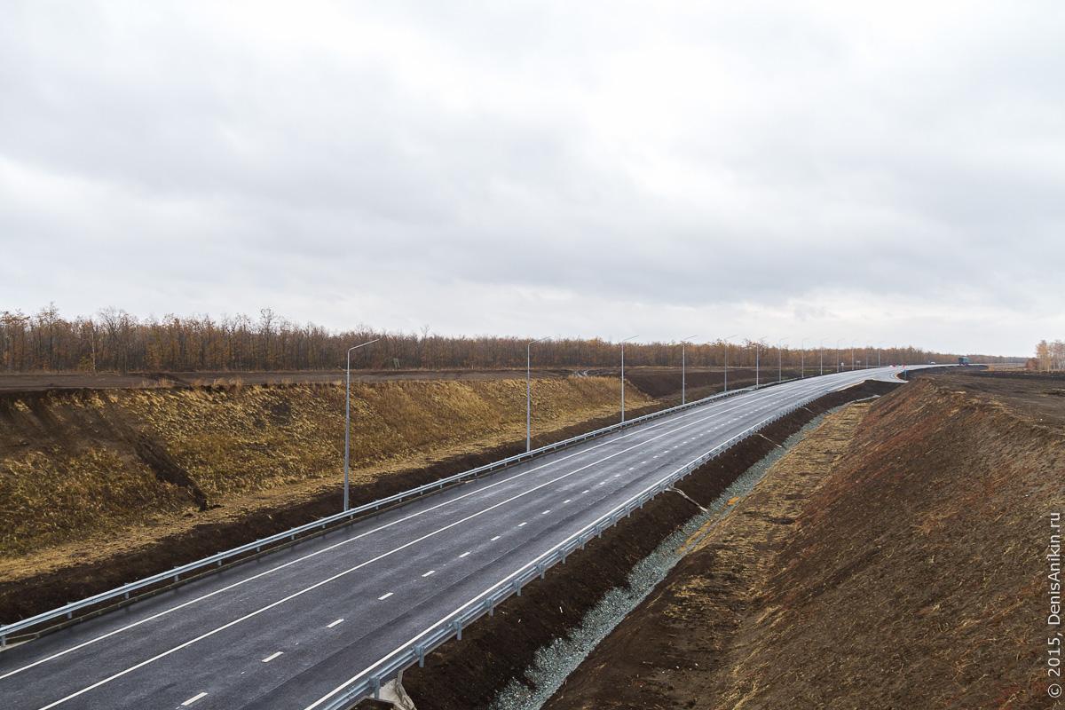 Строительство автодороги в обход Елшанки 3