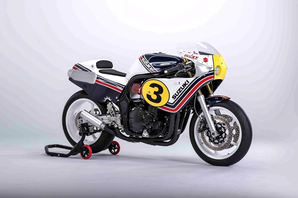 Italian Dream Motorcycles: Гоночный кастом Suzuki Bandit 1200 Lucky X