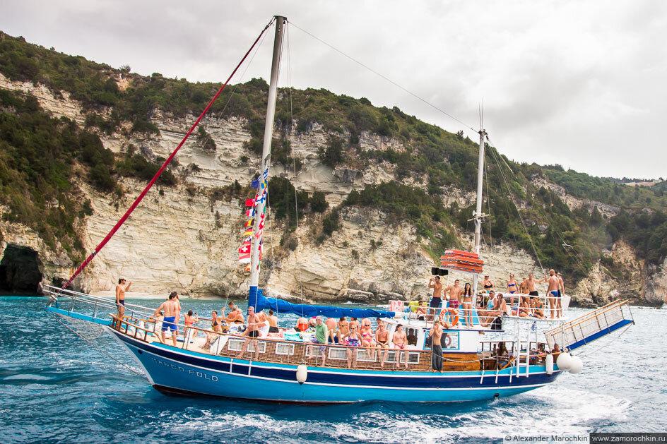 Паксос, экскурсионное судно