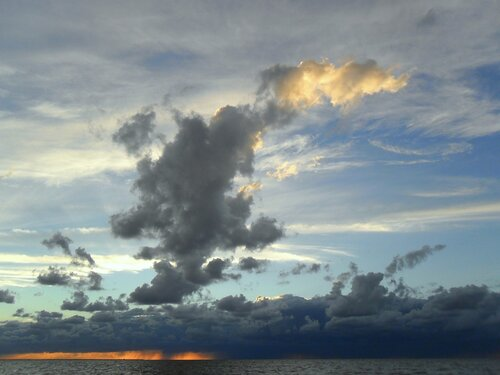 Небесная палитра, ... Азовское море