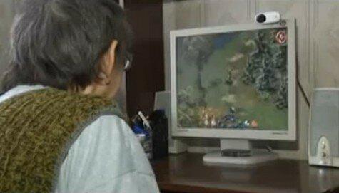 80-летняя бабушка-геймер живет в Орске