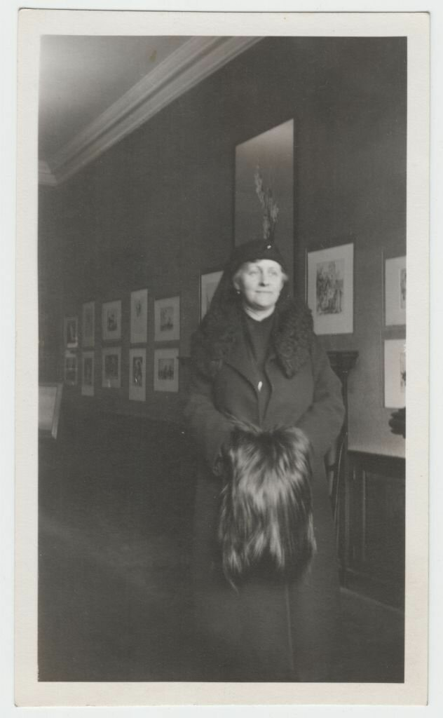 1935. Эвелина Майделл после смерти мужа. Бостон