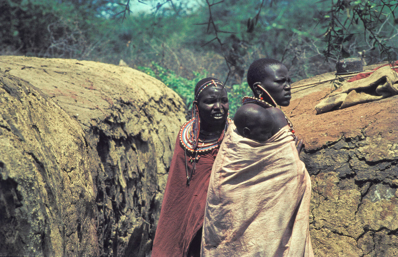 1963. Женщины масаи. Танзания