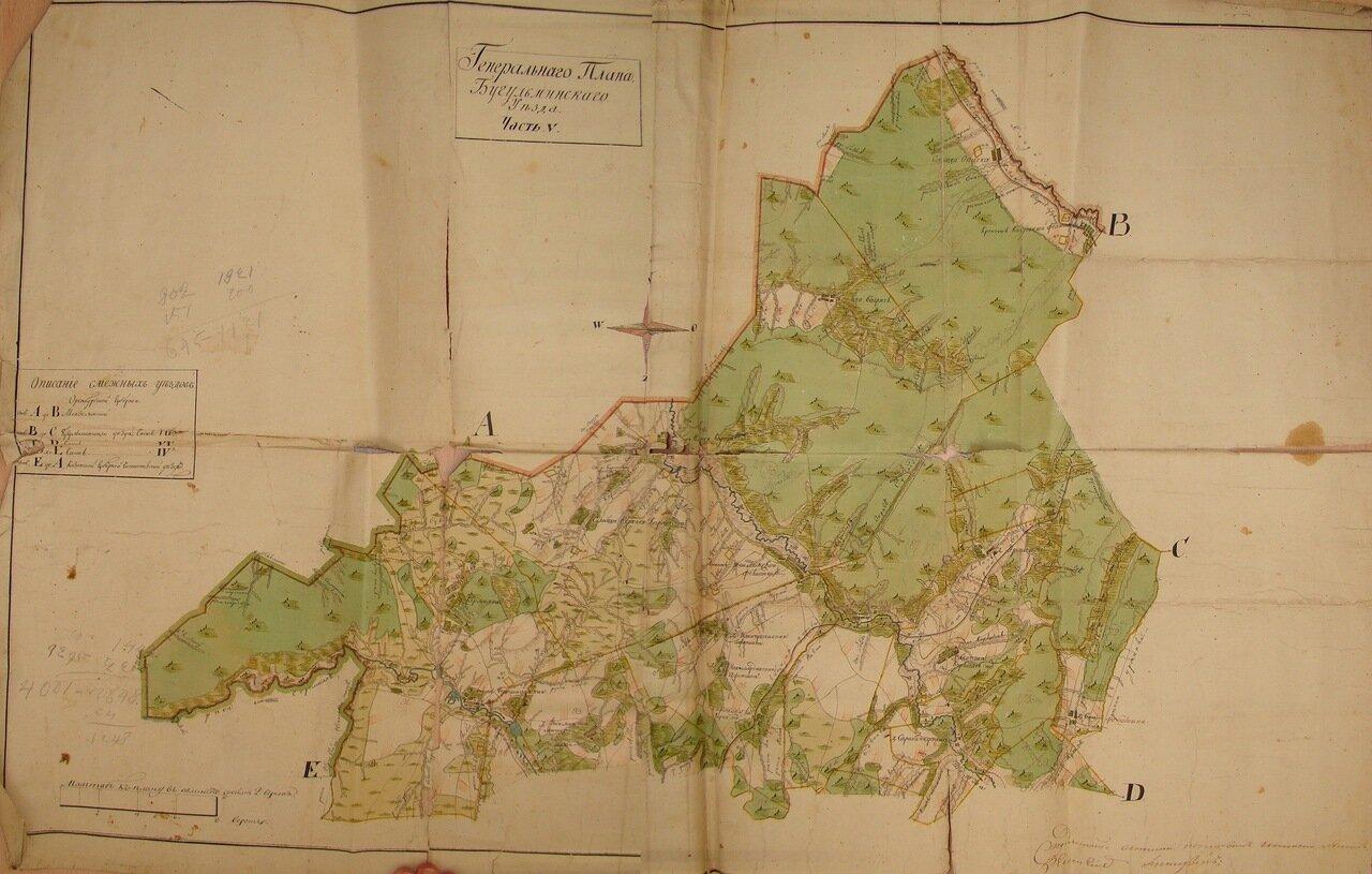 Генеральный план Бугульминского уезда