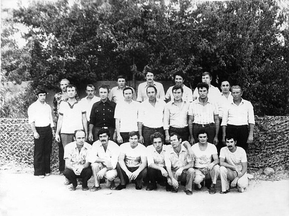 1981. Сирия, Тифор. Отряд майора Владимира Родионовича Тимощенко