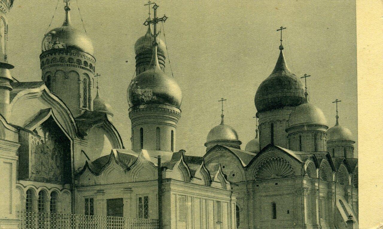 Кремль. Купола Благовещенского собора