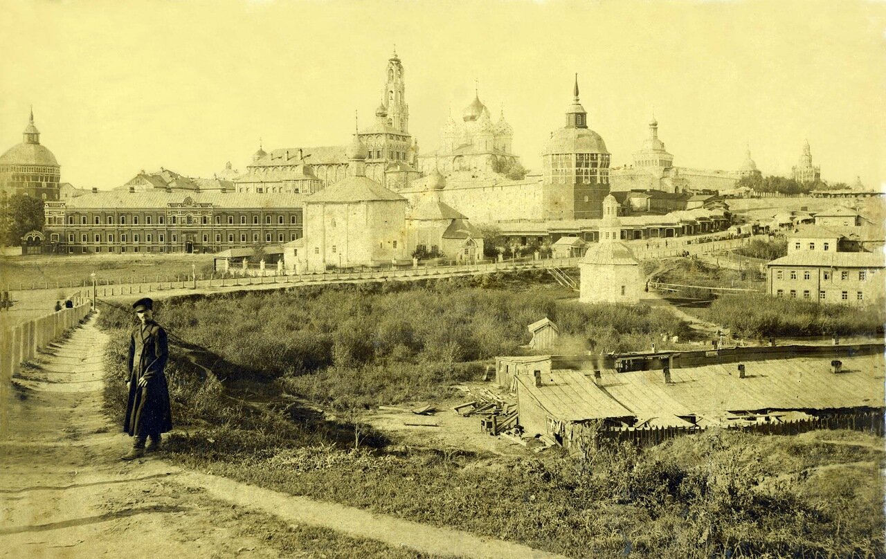 Троице-Сергиевская Лавра.1909