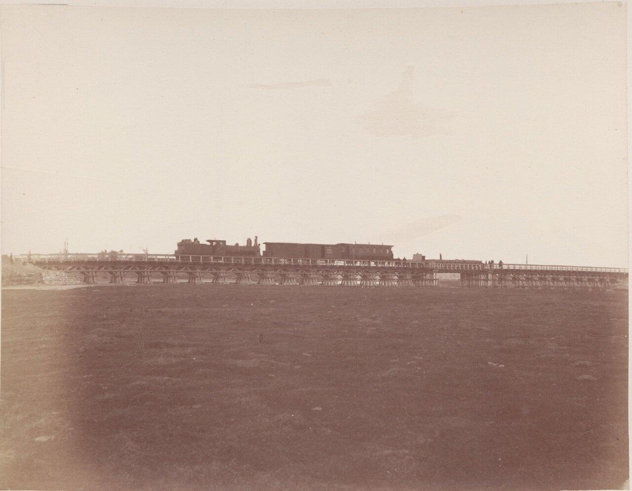 Железнодорожный мост в Ниде