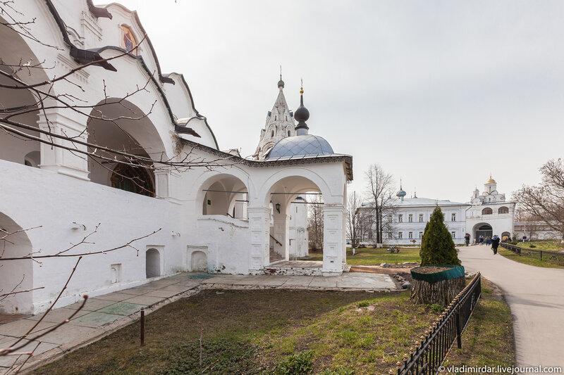 Покровский собор в Покровском монастыре Суздаля