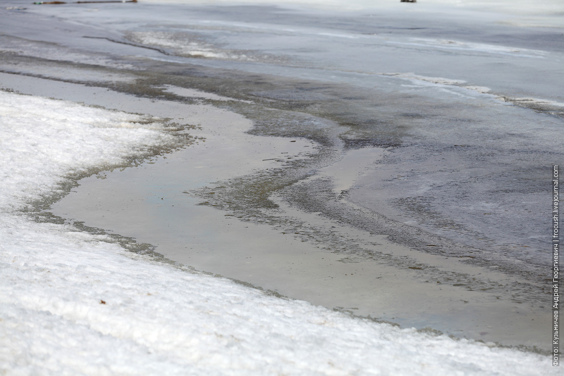 тонкий лед в Калязине