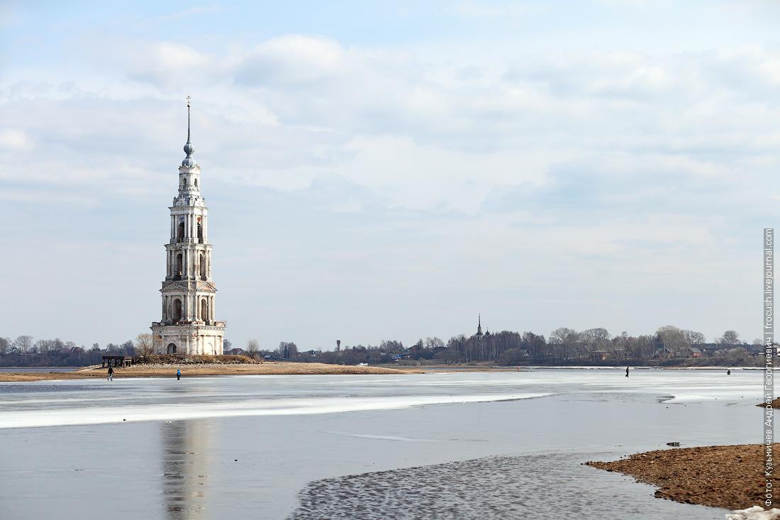 фотографи Калязинской колокольни